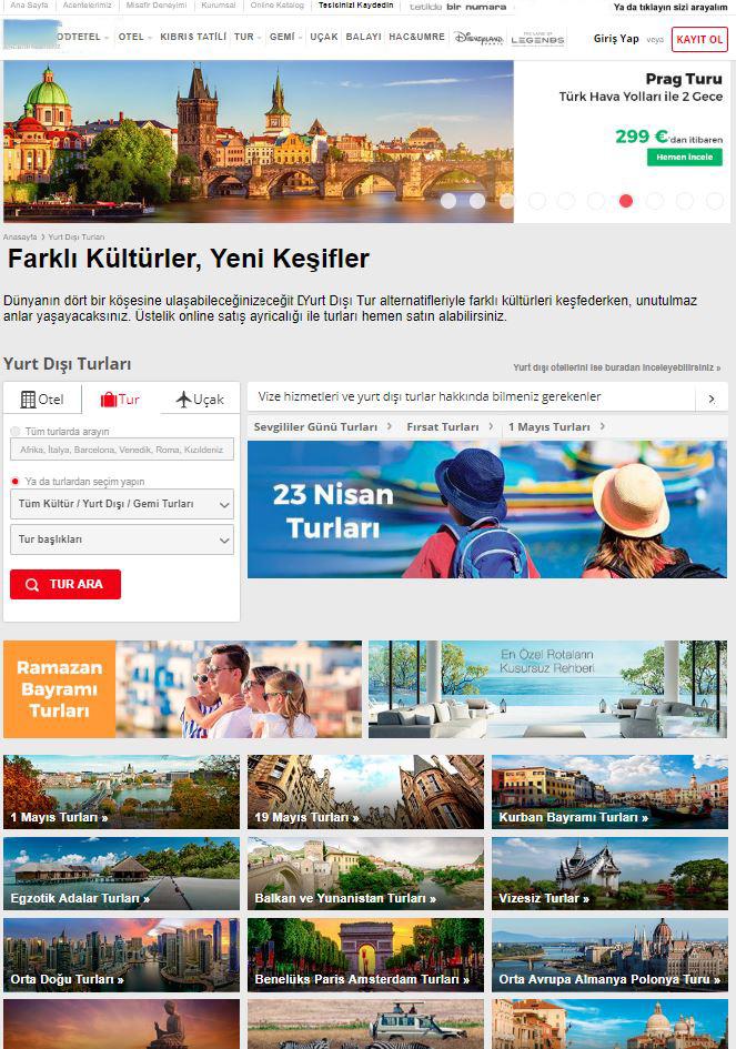 Seyahat Acentası | Online Tur Satış Yazılımı Otel ,Tur ve Tatil Rezervasyon Yazılımları